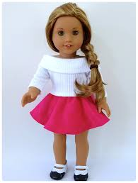 American Girl Clothes Patterns Cool Doll Clothes Patterns By Valspierssews Skater Skirt Doll Clothes