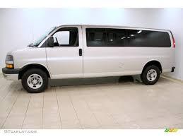 Silver Birch Metallic 2008 Chevrolet Express EXT LS 3500 Passenger ...