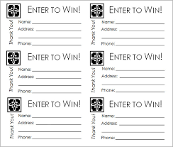Draw Ticket Template Raffle Tickets Print Under Fontanacountryinn Com