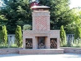 brick fireplace designs outdoor brick fireplace innovative outdoor fireplace designs plans standout outdoor brick fireplaces delectable