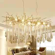 industrial crystal chandelier vintage wrought iron industrial handmade tree branch crystal chandelier modern industrial crystal chandelier