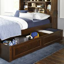 Full Bookcase Bed with Trundle Storage Drawer by Legacy Classic ...