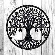 Life Of Tree Tree Tattoo Tree Vectorfamily Tree By Dxf Store