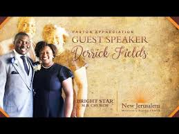 Sunday Morning Guest Speaker - Pastor Derrick Fields of the Bright Star  M.B. Church - YouTube