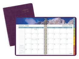 At A Glance Dayminder Scenic Monthly Planner Weekly