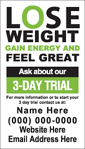 3 day trial lose weight feel great invitation