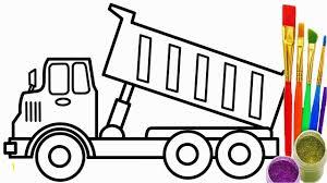 Construction Dump Truck Coloring Pages At Dump Truck Coloring Pages