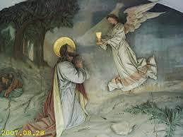Resultado de imagem para Jesus no monte das oliveiras