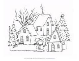 Small Picture Winter Color By Number Coloring Page 2 Printable Color By