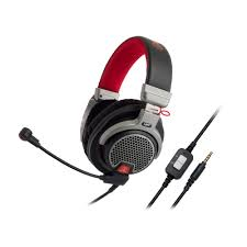 audio technica gaming headsets come with an extension cable that breaks out into a y one plug for your computer s mic input and the other for your
