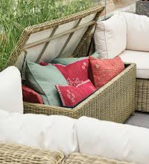 how to outdoor furniture and cushions