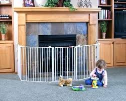 kidco hearth gate hearth gate fireplace baby gate inch super wide gate and play yard white