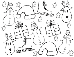 They are counted as one of the most popular subjects for coloring sheets too. Kids Christmas Coloring Page Reindeer Presents Snowmen Free Christmas Coloring Page Stevie Doodles