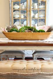 How To Decorate A Bowl How to fill a dough bowl for a table centerpiece Dining Rooms to 18