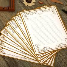 8Pcs Lot New Cute Romantic Vintage Letter Writing Paper Design Set Thick Section 110g Paper H0329