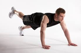 walk out plank exercise to burn fat