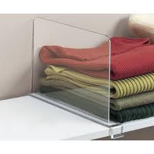 Slide On Shelf Dividers