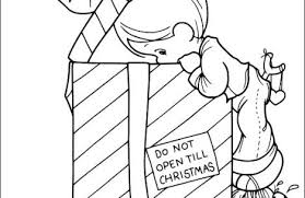 Precious Moments Christmas Coloring Pages Just Colorings