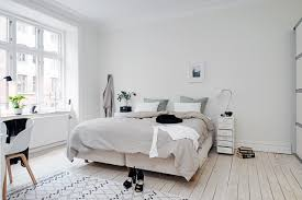 Small White Bedroom Scandinavian Style Dining Room Zampco