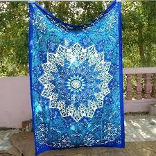 cloth wall hangings wall cloth decor ocean blues bohemian tapestry decor wall hanging table cloth fr cloth wall hangings