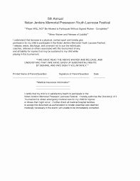 Example Of Release Of Liability Form Liability Waiver Example 24 Awesome Release Form Document Template 8