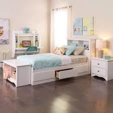 Prepac Bedroom Furniture Prepac Monterey White Twin Headboard Wsh 4543 The Home Depot