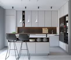 Minimalist Industrial Kitchen Design Simple Home Decorating Ideas