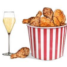 fried chicken bucket hat. Contemporary Fried Why Champagne And Fried Chicken Are Perfect Together Inside Bucket Hat N