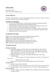 Resume Of Simon Zhao
