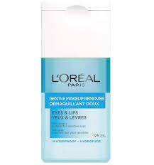 l oréal gentle make up remover for eyes lips 125ml