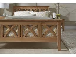 Oak Bedroom Maidenhead Oak Bed Frame Slatted Bedstead 50 King Size Beds