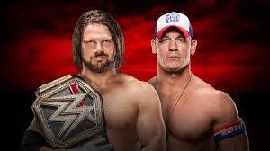 Royal Rumble Preview: Wwe Championship - Aj Styles (C) Vs. John Cena ...