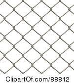 Chain Link Fence Clipart