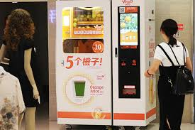 Chinese Vending Machine New Fresh Nutritious Cheap-newage Juice Machines Serve Joy