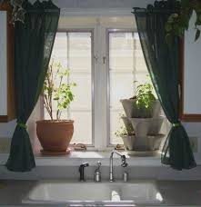 Patterns For Kitchen Curtains Interior Designs Beautiful Kitchen Curtains With Floral Patterns