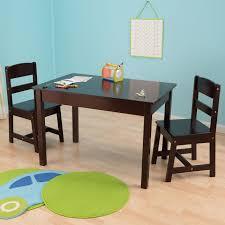 Table Set For Kids Kidkraft Kids 3 Piece Wood Table Chair Set Reviews Wayfair