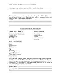 Extracurricular Activities Resume Template Gfyork Com