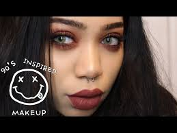 tutorial 90 s inspired grunge makeup you