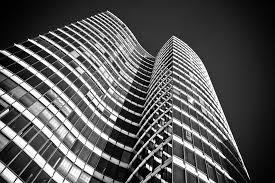 modern black white. modren black architecture skyscraper glass facades inside modern black white