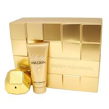 paco rabanne lady million edp 80ml gift set for women