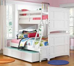 Bedroom:Charming Triple Bunk Beds For Teenagers With Pink Wall Color  Decoration Ideas Charming Triple