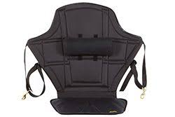 skwoosh high back kayak seat with adjule lumbar support and waterproof nylon seat