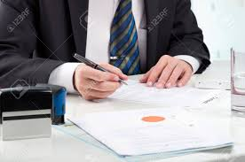 Image result for signing document