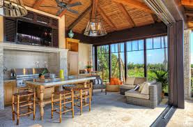 Tropical Outdoor Kitchen Designs Simple Ideas