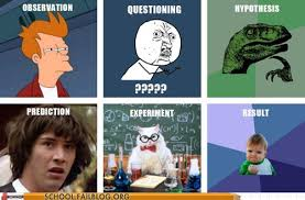 The Scientific Method in Memes | Why? Because Science. via Relatably.com