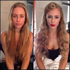 model without makeup 27 models stars and actresses get the magic touch photos