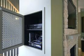 mount cable box behind tv how to hide cable box behind wall mount the best of
