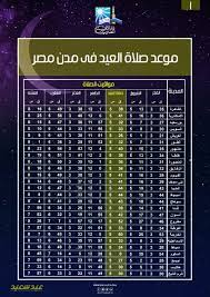 تعرف على مواعيد صلاة عيد الأضحى بجميع مدن مصر – جريدة الرواق