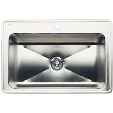 Standard Plumbing Supply  Product Kohler K59314U7 Executive Deep Bowl Kitchen Sink
