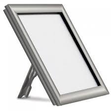 Silver Counterstanding Snap Frames